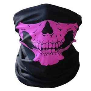 Accessories - Biker skull face mask neck scarf womens mens